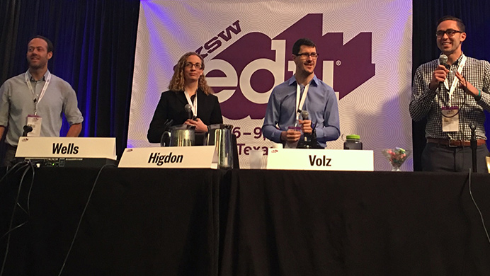 Avenues researchers and Project Hello World partners present at SXSWedu 2017.